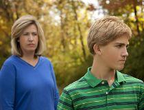 mom son fight