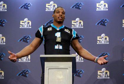 Cam Newton Super Bowl