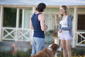 "Travis Shaw (Ben Walker) and Gabby Holland (Teresa Palmer) in ""The Choice."""