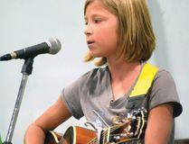 Haley Van Maele at the 2015 Langton Fair (CHRIS ABBOTT/TILLSONBURG NEWS)