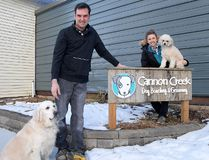 Tillsonburg's Amy and Dave Nadeau, Cannon Creek Dog Boarding, Grooming and Daycare. (CHRIS ABBOTT/TILLSONBURG NEWS)