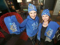 Monica Derksen, event director for Coldest Night, and Laurie Barkman, general manager, Alt Hotel.