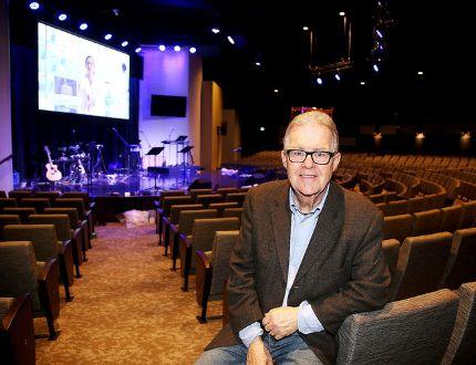 <p>Jeremy Mahood in the auditorium at All Nations Church. Gino Donato/Sudbury Star/Postmedia Network