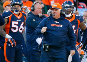 Denver Broncos defensive coordinator Wade Phillips won The Associated Press NFL Assistant Coach of the Year award. (AP Photo/Joe Mahoney, File)