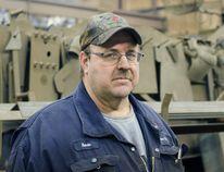 Helm Welding (1983) Ltd. Co-owner Kevin Clark. (Darryl Coote/Reporter)