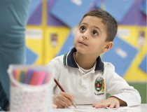 Syrian refugee at Ottawa school