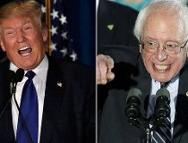 Trump Sanders