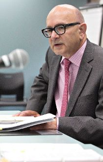 Alberta auditor general Merwan Saher