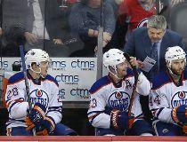 Edmonton Oilers head coach Todd McLellan