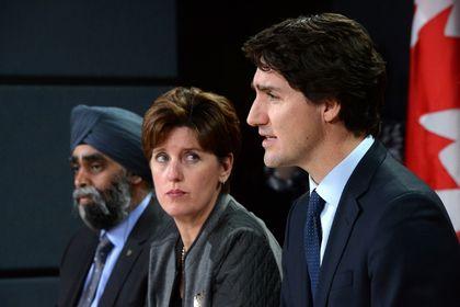 Marie-Claude Bibeau, Justin Trudeau, Harjit Sajjan
