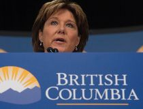 B.C. Premier Christy Clark