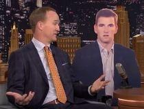 Peyton Manning on The Tonight Show.