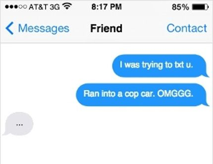 Texting confession