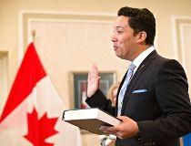 Alberta Minister of Culture and Tourism Ricardo Miranda