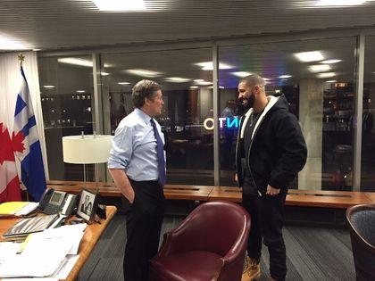 Drake and John Tory
