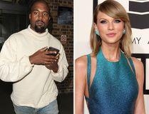 Kanye West and Taylor Swift. (WENN.COM file photos)