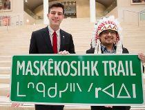 Major Edmonton road first to bear Cree name