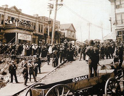 The cover shot from Douglas Baldwin's book Cobalt: Canada's Forgotten Silver Boom Town