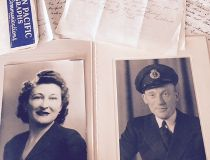 Love letters in Cochrane trunk