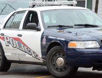 An Owen Sound Police Service patrol car. DENIS LANGLOIS/THE SUN TIMES
