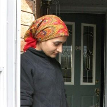Mandeep Punia at her home on April 16, 2010. (Joe Warmington/Toronto Sun)