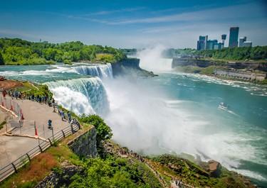 It's Niagara Falls! (Fotolia)