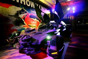 Batmobile at the Auto Show on Friday February 19, 2016. Craig Robertson/Toronto Sun/Postmedia Network