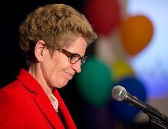 Ontario premier Kathleen Wynne (CRAIG GLOVER, The London Free Press)