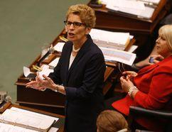Ontario Premier Kathleen Wynne in the legislature at Queen's Park on Feb. 16, 2016 (Jack Boland/Toronto Sun)