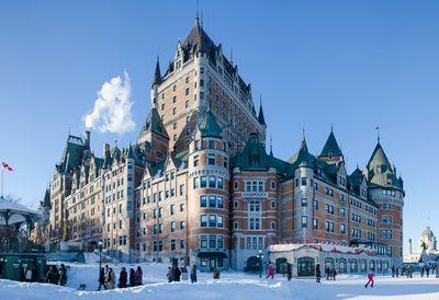 Fairmont Le Château Frontenac, Quebec City. (Fotolia)
