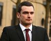 Former Sunderland soccer player Adam Johnson leaves Bradford Crown Court in Bradford, England on Feb. 12, 2016. (Phil Noble/Reuters)