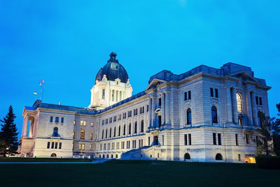 Saskatchewan Legislative Building, Regina. (Fotolia)