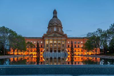 Alberta Legislature Building, Edmonton. (Fotolia)