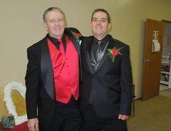 Keith Morley and his nephew Jesse Stephens