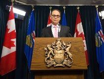 Alberta Finance Minister Joe Ceci