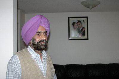 Kulwant Singh, Poonam Litt's father-in-law, in 2010. (Joe Warmington/Toronto Sun files)