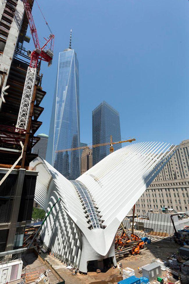 World Trade Center Transportation Hub In New York City