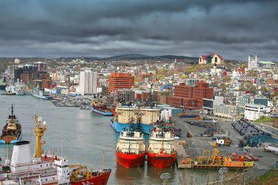 It's the flag of Newfoundland and Labrador! (Fotolia)