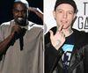 "Kanye West and Canadian DJ Deadmau5, aka: Joel Zimmerman (Reuters/<A HREF=""http://www.wenn.com"" TARGET=""newwindow"">WENN.COM</a>)"