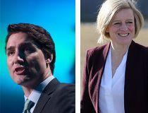 Trudeau, notley, wynne