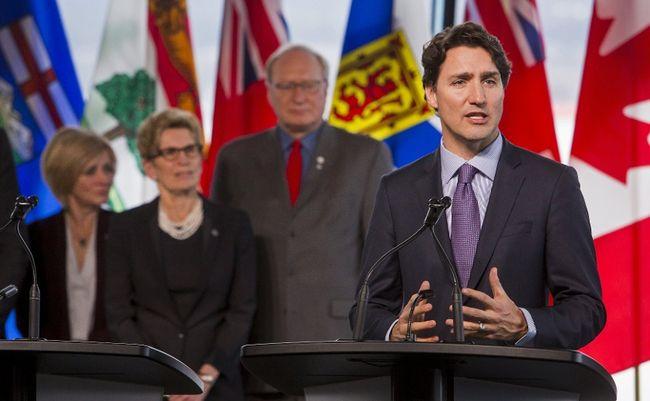 Trudeau premiers