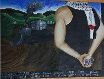 anti-Israel mural