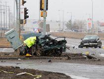 fatal crash involving police manning drive and