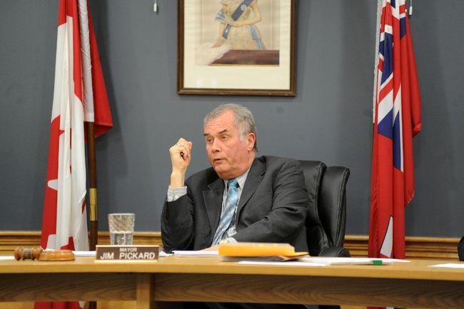 Elizabethtown-Kitley township mayor Jim Pickard.
