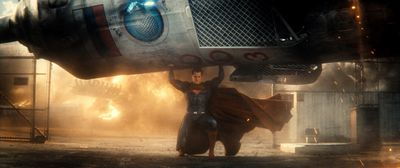 "Henry Cavill as Superman in scene from ""Batman v Superman: Dawn of Justice"". (Warner Bros.)"