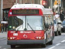 OC Transpo bus.