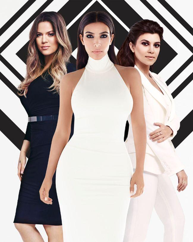 The Kardashian sisters: Khloe, Kim, and Kourtney. (Handout)