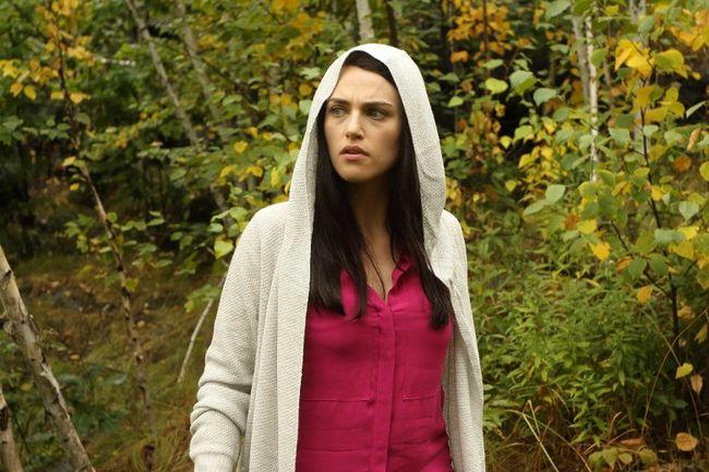 """Katie McGrath in """"Slasher."""""""