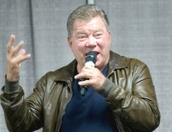 William Shatner. (Liam Richards/Postmedia Network)