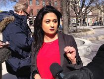 Liberal leader Rana Bokhari pledged to build a new fresh food market in downtown Winnipeg.